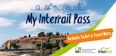 Interrail Pass Ticket Cover 2017 original